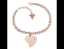 Buy Käekett GUESS Love Rose Gold UBB28096 S Elkor