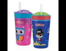 Buy Kruus NUBY Drink & Snack Cup Elkor