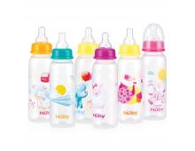 Buy Pudel NUBY Feeding Nurser Bottle 240ml (1.2.3 flow) ID1486 Elkor