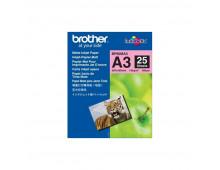 Buy Photographic paper BROTHER Matt Paper A3/25/145G BP60MA3 Elkor
