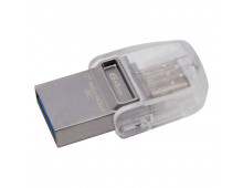 Buy USB flash memory KINGSTON 64GB DataTraveler microDuo 3C USB3.0/3.1+Type-C DTDUO3C/64GB Elkor