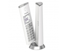 Buy Cordless phone PANASONIC KX-TGK210FXW White  Elkor