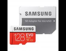 Buy Memory Card SAMSUNG 128GB Micro SDXC EVO+ Class10 MB-MC128GA/EU Elkor