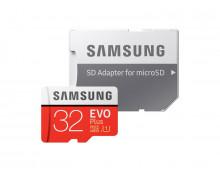 Buy Memory Card SAMSUNG 32GB MicroSDHC EVO+ Class 10 MB-MC32GA/EU Elkor