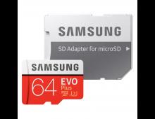 Buy Memory Card SAMSUNG 64GB Micro SDXC EVO+ Class 10 MB-MC64GA/EU  Elkor