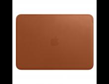 Buy Laptop bag APPLE Leather Sleeve for MacBook 12 Sadle Brown MQG12ZM/A Elkor