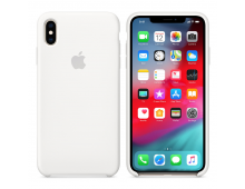 Buy Чехол APPLE Silicone Case for iPhone XS Max White MRWF2ZM A Elkor