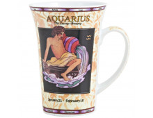 Buy Kruus LILING CERAMIC Mug zodiak AQUARIUS Elkor