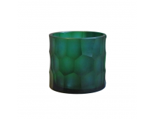 Buy Küünlajalg O4HOME Tealight Holder Turquoise 9x9 cm GLC1360T Elkor