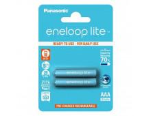 Buy Akukomplekt PANASONIC Eneloop Lite 2xAAA BK-4LCCE/2BE Elkor
