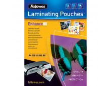 Buy Laminating pouch FELLOWES A4 (80Mkr)/100 Elkor