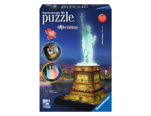 Buy 3D puzzle RAVENSBURGER Statue Of Liberty At Night R12596 Elkor