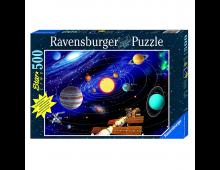 Buy Puzzle RAVENSBURGER Glow in the Dark - Solar System 14926 Elkor