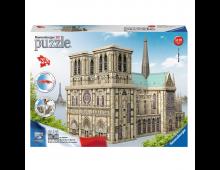 Buy 3D puzzle RAVENSBURGER Notre Dame 12523 Elkor