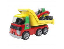 Buy Traktor BRUDER ROADMAX truck+excavator 20070 Elkor