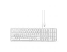 Buy Клавиатура SATECHI Alu Wired Silver US ST-AMWKS Elkor