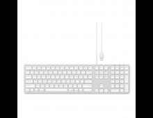 Buy Keyboard SATECHI Alu Wired Silver US ST-AMWKS Elkor