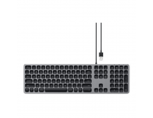 Buy Keyboard SATECHI Alu Wired Space Grey US ST-AMWKM Elkor
