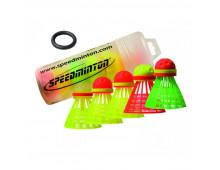 Buy Volang SPEEDMINTON Speedertube 5er Mixpack 400206 Elkor