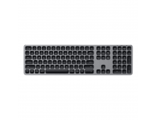 Buy Клавиатура SATECHI Alu BT Space Grey US ST-AMBKM Elkor