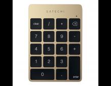 Buy Keyboard SATECHI Slim Aluminium Keypad Gold ST-SALKPG Elkor