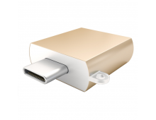 Buy Adapter SATECHI Type C-Type A USB Gold ST-TCUAG Elkor