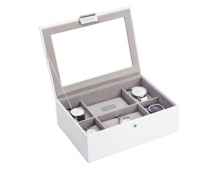 Buy Kirst STACKERS White Classic 8pc Watch Box 73593 Elkor
