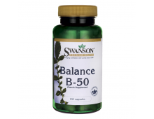 Buy Vitamiinid SWANSON Balance B-50 100 Caps SW057 Elkor