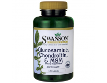 Buy Vitamiinid SWANSON Gluc Chond Msm 250/200/150 120 Tabs SW1009 Elkor
