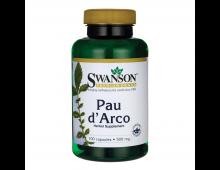 Buy Toidulisandid SWANSON Pau D'arco 500 Mg 100 Capsules SW424 Elkor