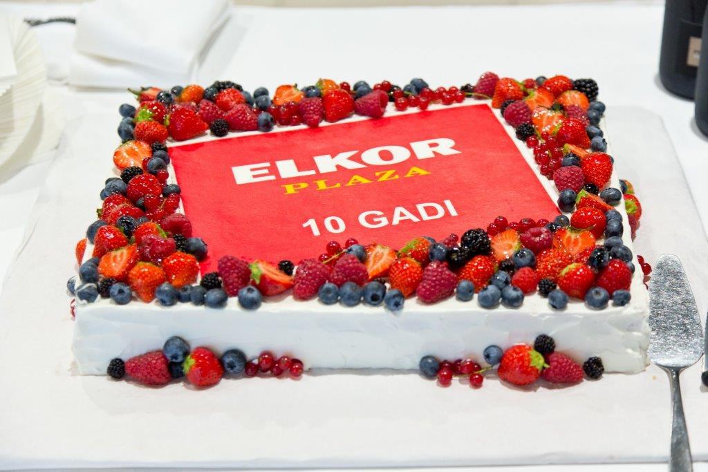 ELKOR PLAZA 10. gadi